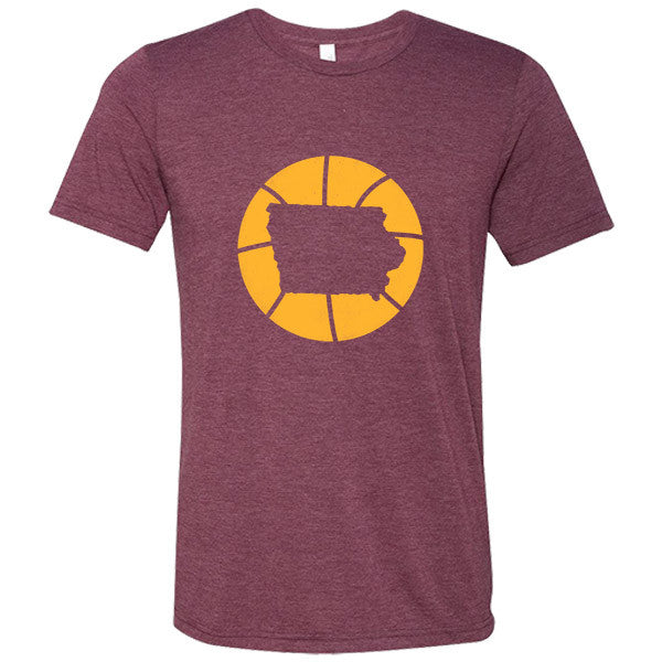 Iowa Basketball State T-Shirt - Citizen Threads Apparel Co.