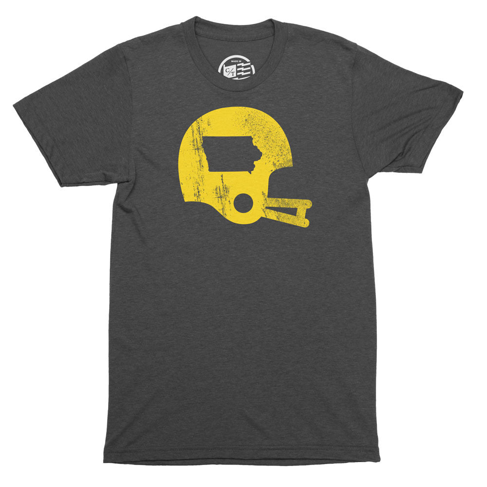 Iowa Football State T-Shirt - Citizen Threads Apparel Co. - 1