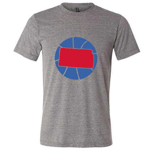 Kansas Basketball State T-Shirt - Citizen Threads Apparel Co. - 4