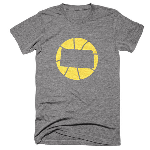 Kansas Basketball T-Shirt - Citizen Threads Apparel Co. - 2