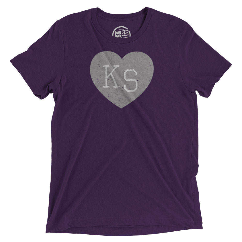 Kansas Heart T-Shirt - Citizen Threads Apparel Co. - 1