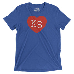 Kansas Heart T-Shirt - Citizen Threads Apparel Co. - 4