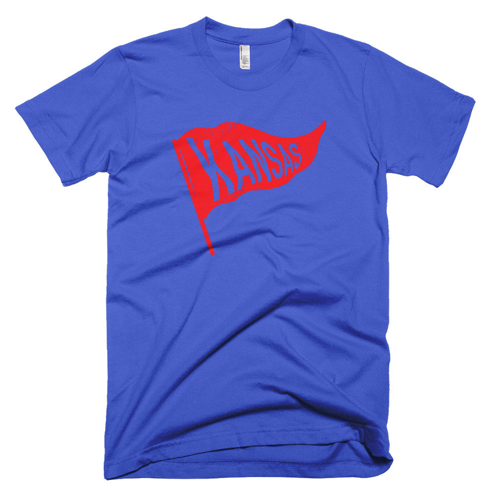 Kansas Vintage State Flag T-Shirt - Citizen Threads Apparel Co. - 1