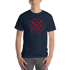 Los Angeles Crossed Baseball Bats T-Shirt