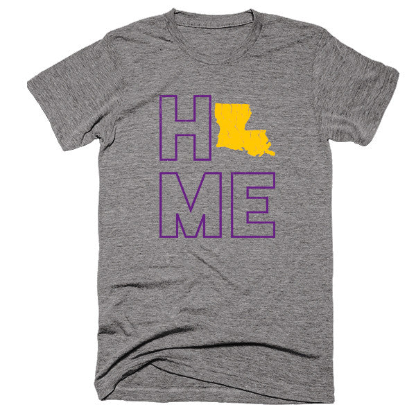 Louisiana Home T-Shirt - Citizen Threads Apparel Co.