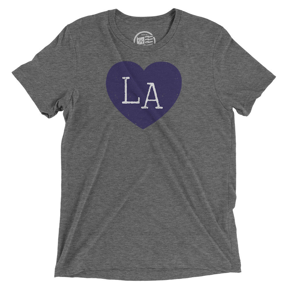 Louisiana Heart T-Shirt - Citizen Threads Apparel Co. - 1