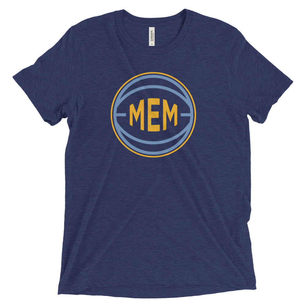 Memphis MEM Basketball City T-Shirt