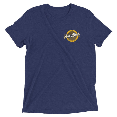 Ann Arbor Retro Circle T-Shirt