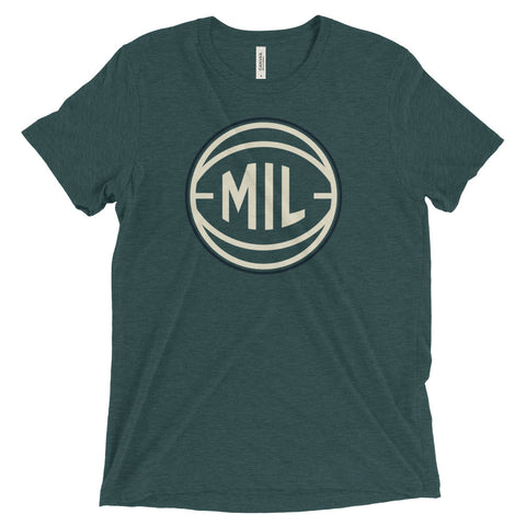 Milwaukee MIL Basketball City T-Shirt