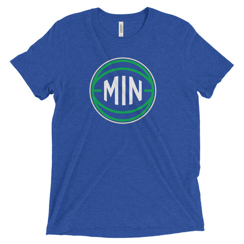 Minnesota MIN Basketball City T-Shirt