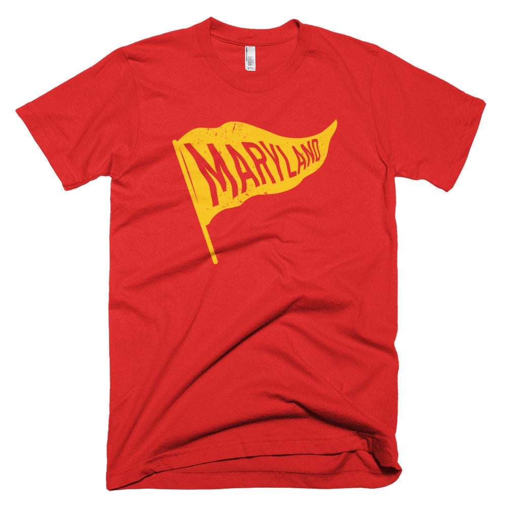 Maryland Vintage State Flag T-Shirt - Citizen Threads Apparel Co.