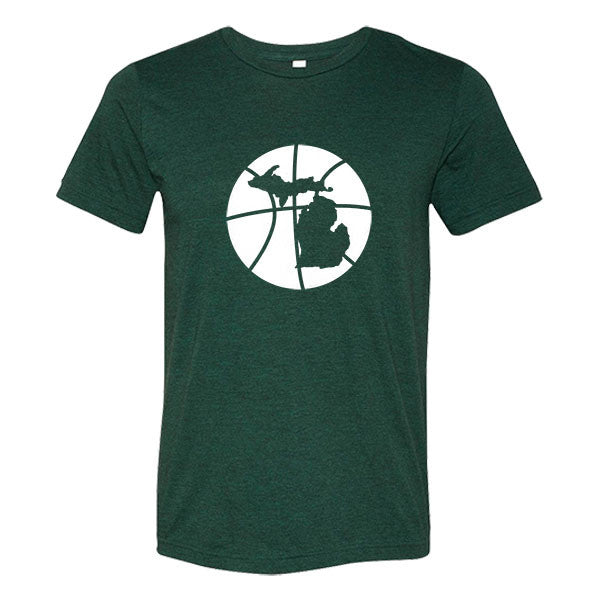 Michigan Basketball State T-Shirt - Citizen Threads Apparel Co. - 1