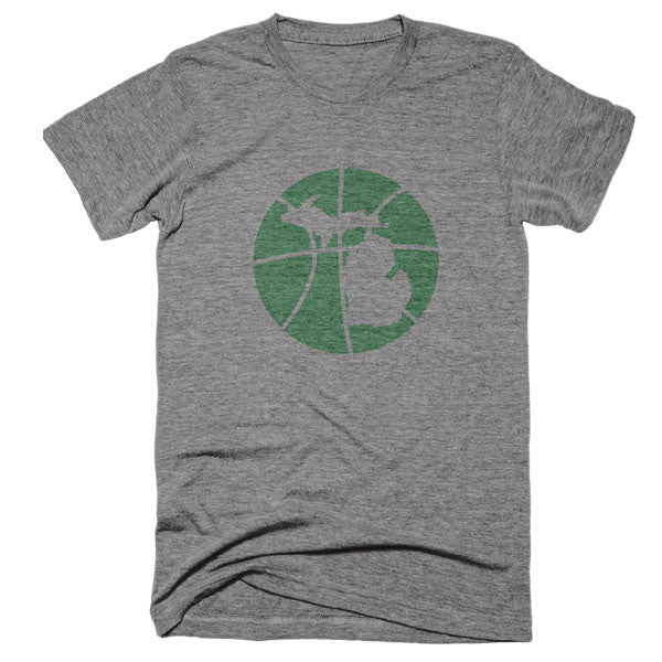 Michigan Basketball State T-Shirt - Citizen Threads Apparel Co. - 2