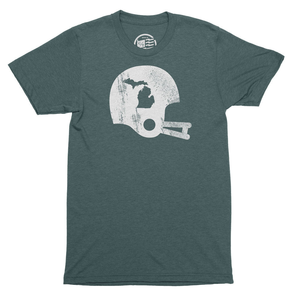 Michigan State Football T-Shirt - Citizen Threads Apparel Co. - 1
