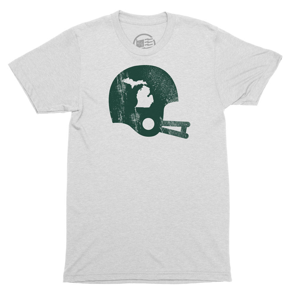 Michigan State Football T-Shirt - Citizen Threads Apparel Co. - 3