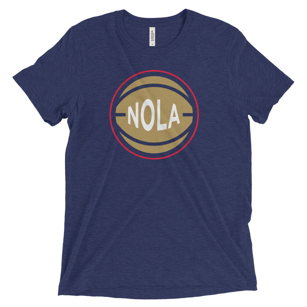 New Orleans NOLA Basketball City T-Shirt