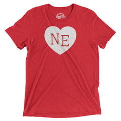 Nebraska Heart T-Shirt - Citizen Threads Apparel Co. - 1
