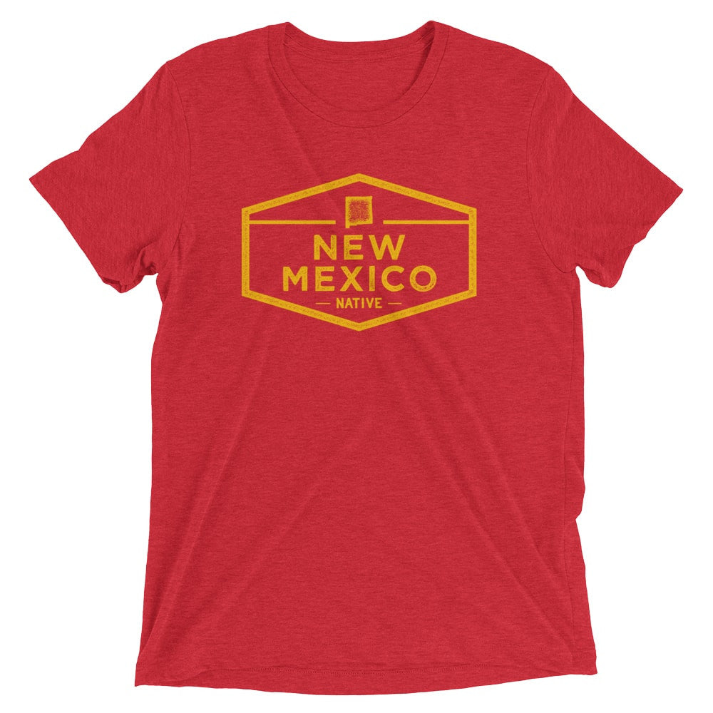 New Mexico Native Vintage Short Sleeve T-Shirt