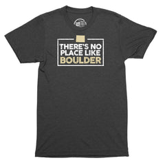 No Place Like Boulder T-Shirt - Citizen Threads Apparel Co. - 2