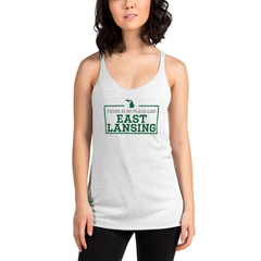 There Is No Place Like East Lansing Women's Tank Top