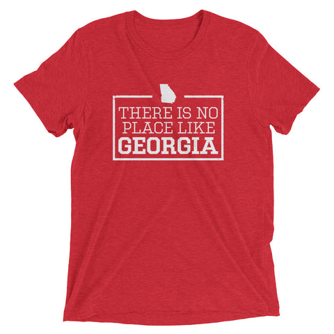 There Is No Place Like Georgia Triblend Short Sleeve T-Shirt