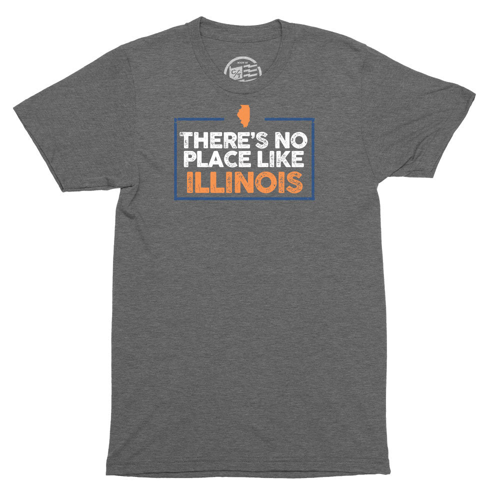 No Place Like Illinois T-Shirt - Citizen Threads Apparel Co. - 1