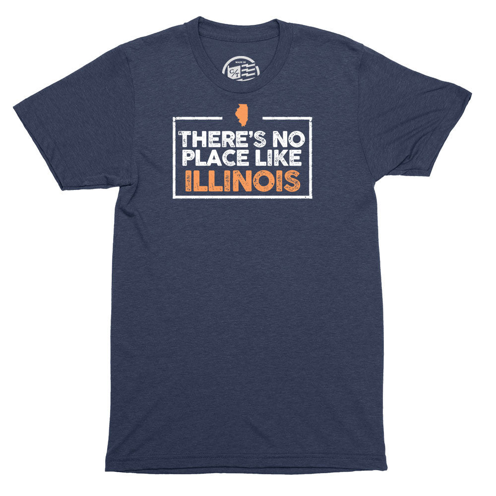 No Place Like Illinois T-Shirt - Citizen Threads Apparel Co. - 2