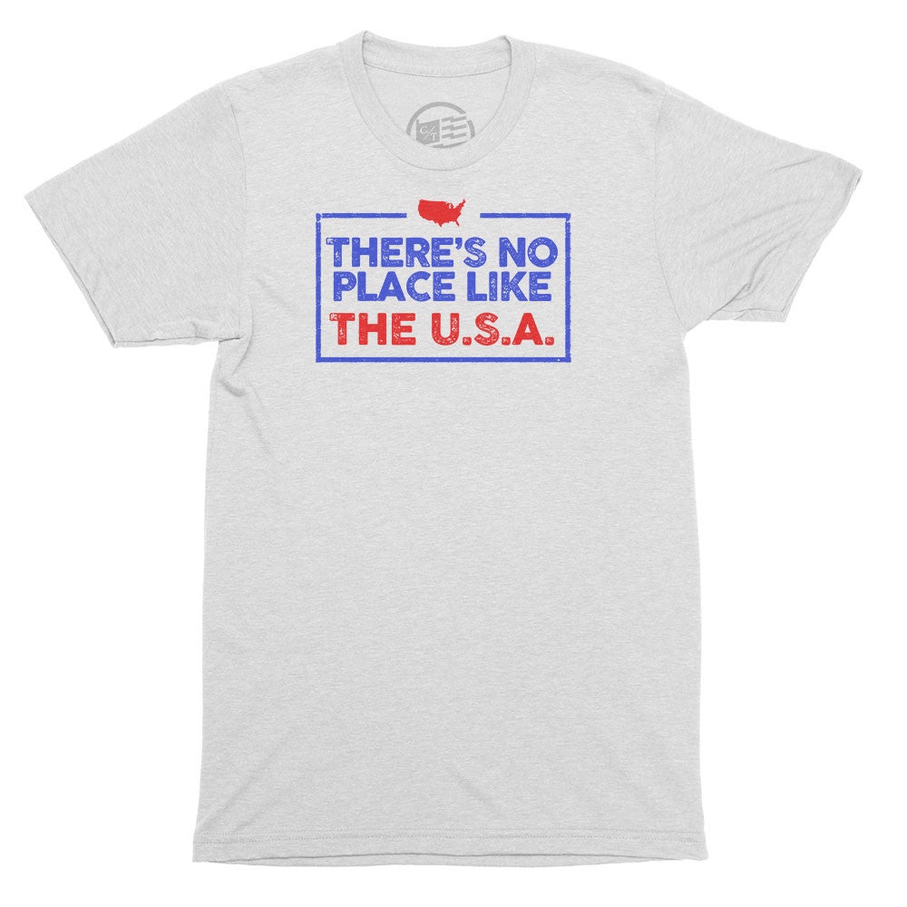 No Place Like USA T-Shirt - Citizen Threads Apparel Co. - 2