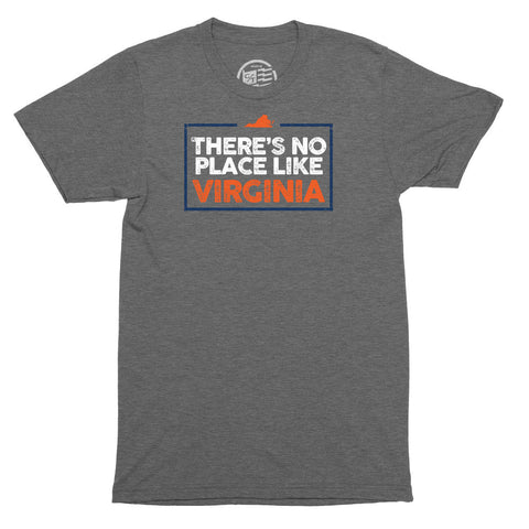 No Place Like Virginia T-Shirt - Citizen Threads Apparel Co. - 1