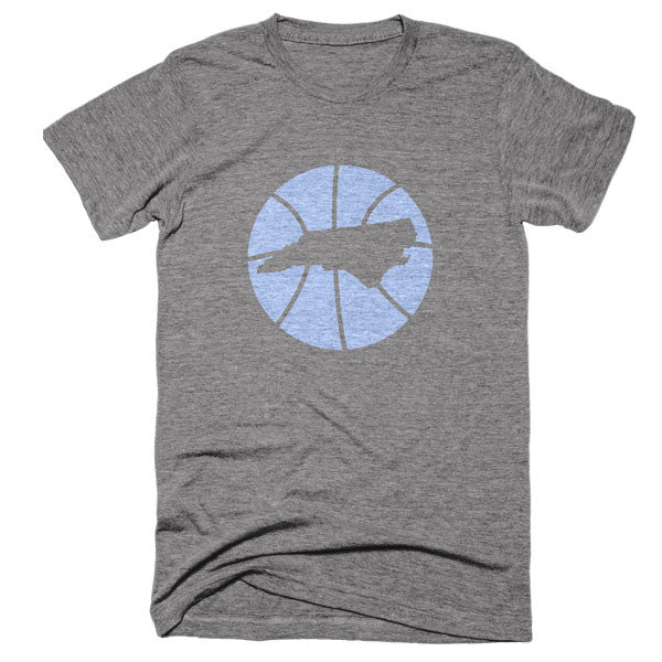 North Carolina Basketball State T-Shirt - Citizen Threads Apparel Co.