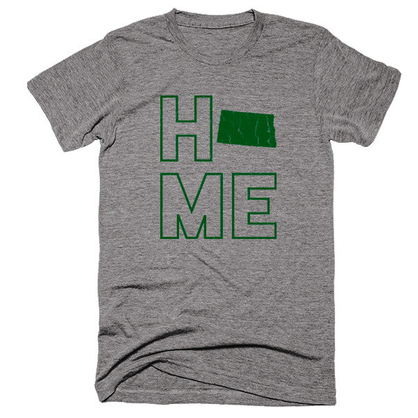 North Dakota Home T-Shirt - Citizen Threads Apparel Co.