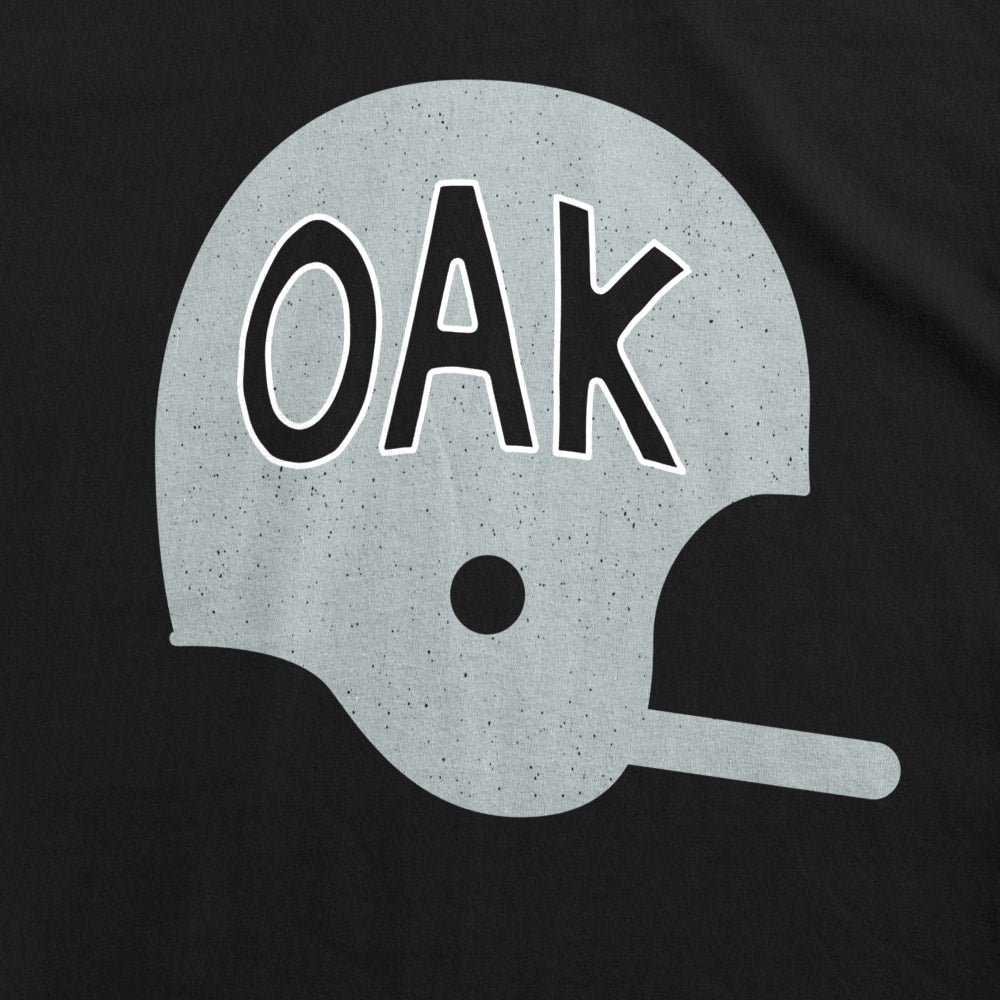 OAK Football Helmet Kids T-Shirt