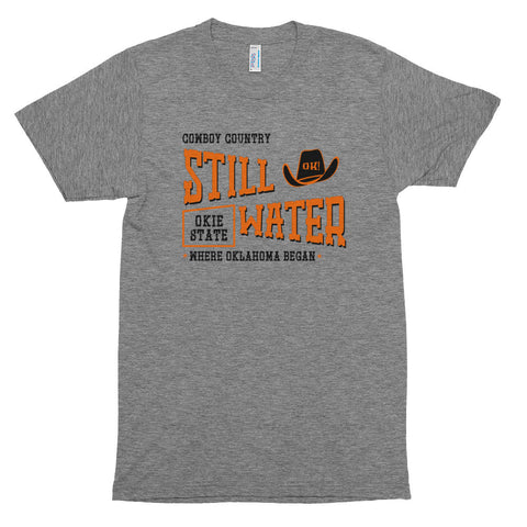 "Stillwater Oklahoma ""Cowboy Country"" T-Shirt - Citizen Threads Apparel Co."