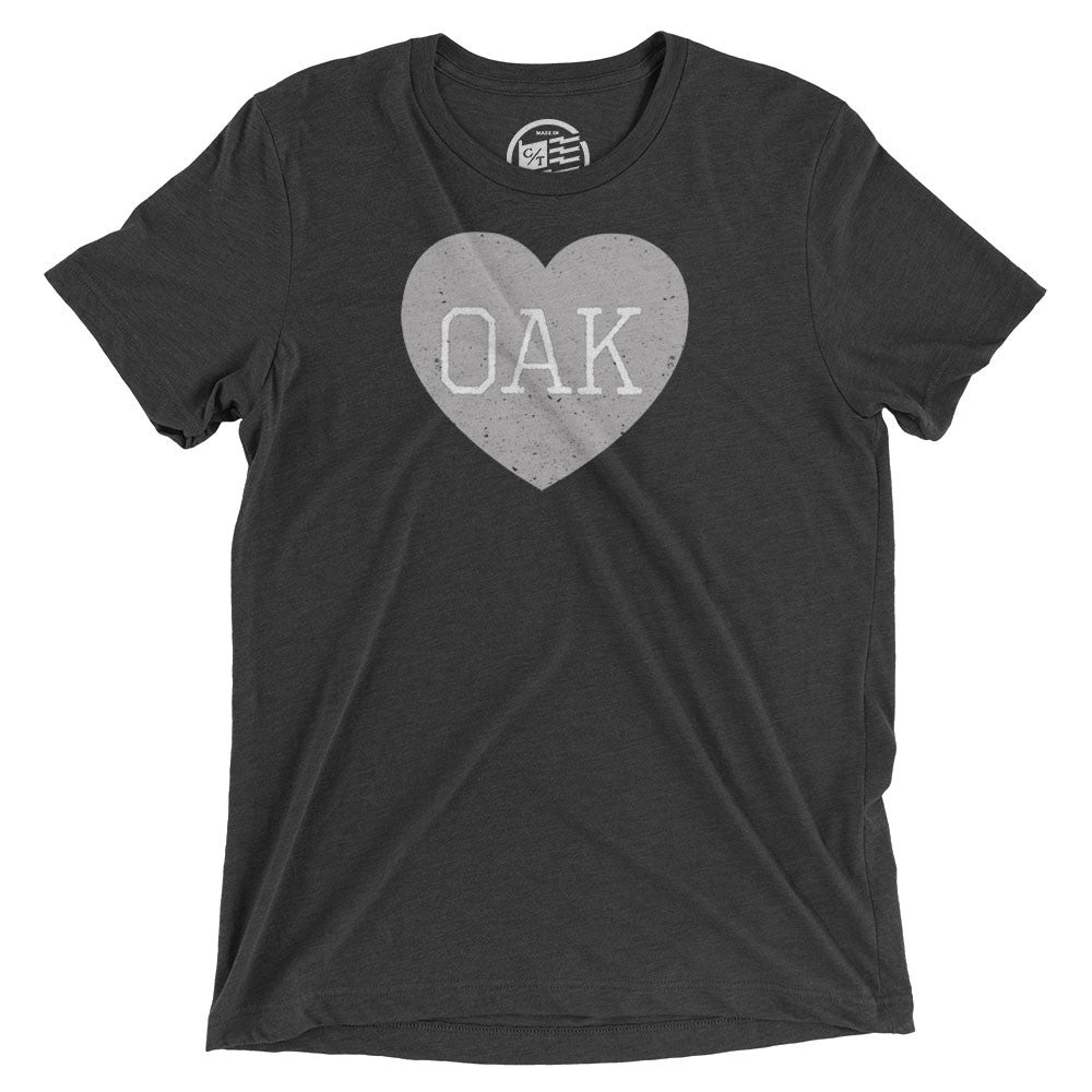 Oakland Heart T-Shirt - Citizen Threads Apparel Co. - 1