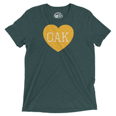 Oakland Heart T-Shirt - Citizen Threads Apparel Co. - 2