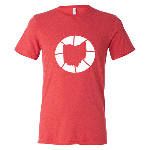 Ohio Basketball State T-Shirt - Citizen Threads Apparel Co.