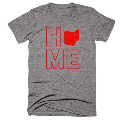 Ohio Home T-Shirt - Citizen Threads Apparel Co.