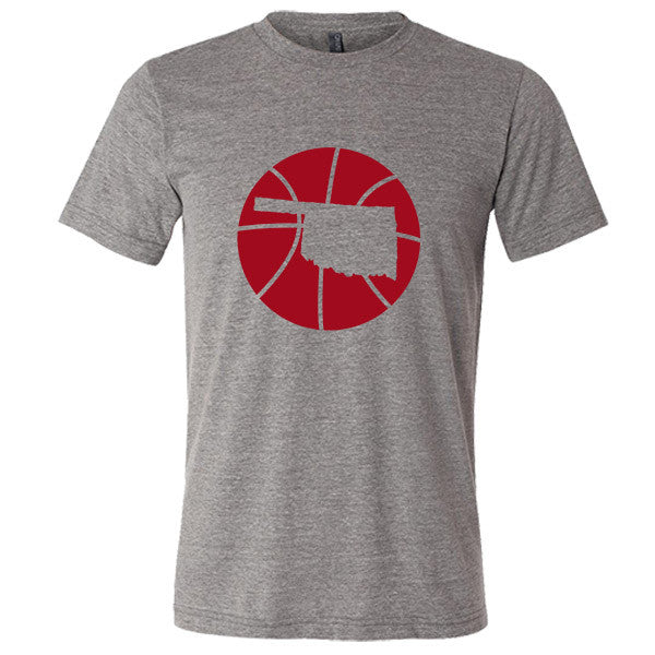 Oklahoma Basketball State T-Shirt - Citizen Threads Apparel Co.