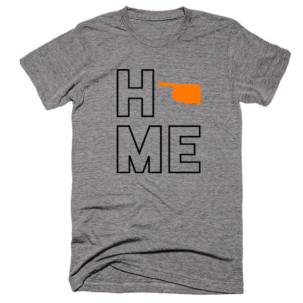 Oklahoma Home T-Shirt - Citizen Threads Apparel Co.