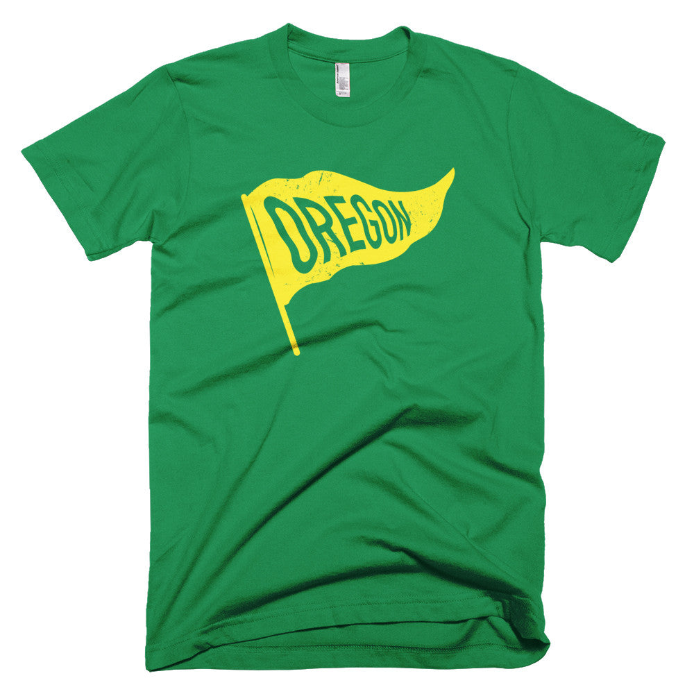 Oregon Vintage State Flag T-Shirt - Citizen Threads Apparel Co.