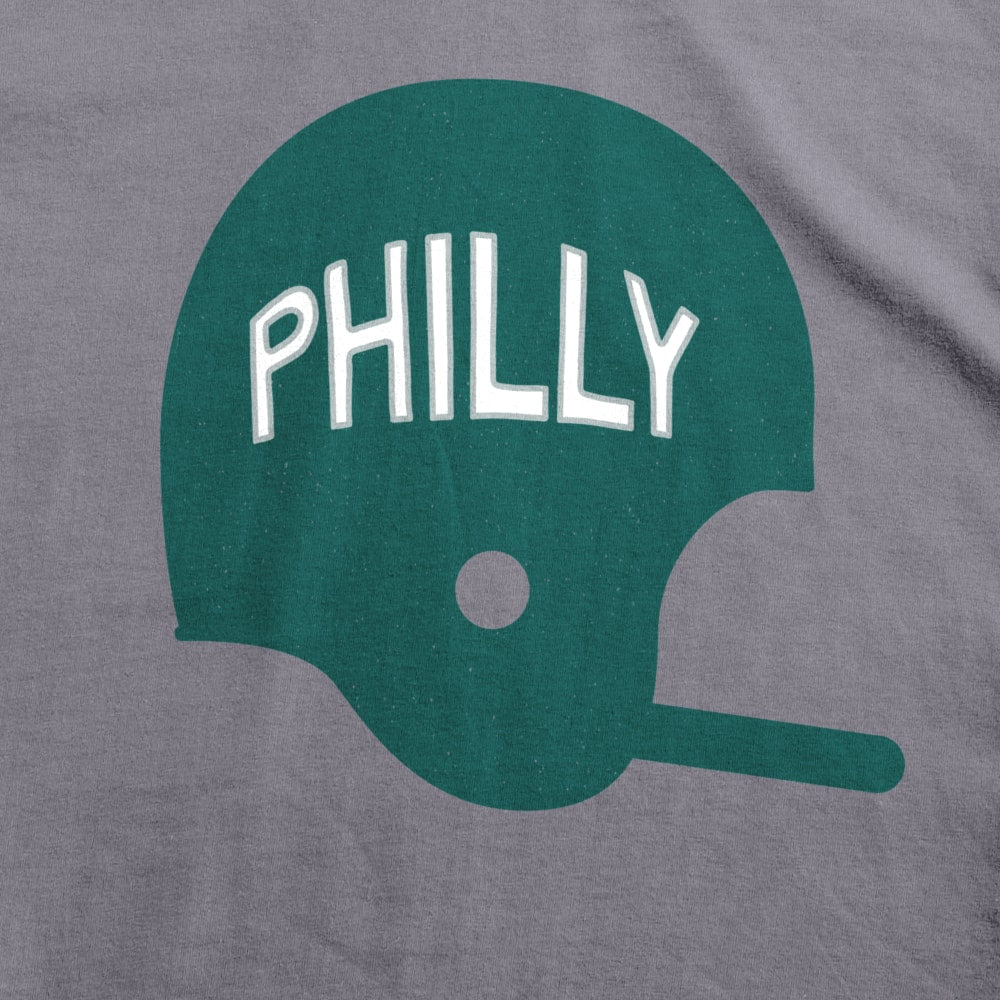 PHILLY Football Helmet Kids T-Shirt