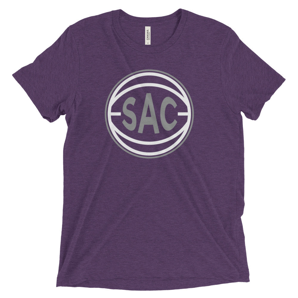 Sacramento SAC Basketball City T-Shirt