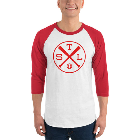 St. Louis Baseball 3/4 Sleeve Raglan