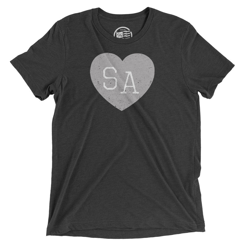 San Antonio Heart T-Shirt - Citizen Threads Apparel Co.