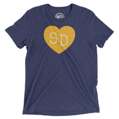 San Diego Heart T-Shirt - Citizen Threads Apparel Co. - 2