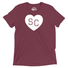 South Carolina Heart T-Shirt - Citizen Threads Apparel Co. - 1