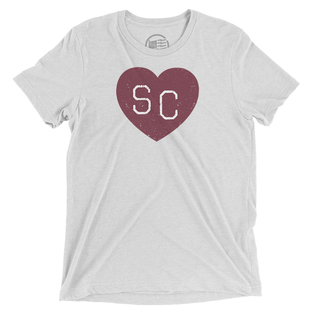 South Carolina Heart T-Shirt - Citizen Threads Apparel Co. - 3