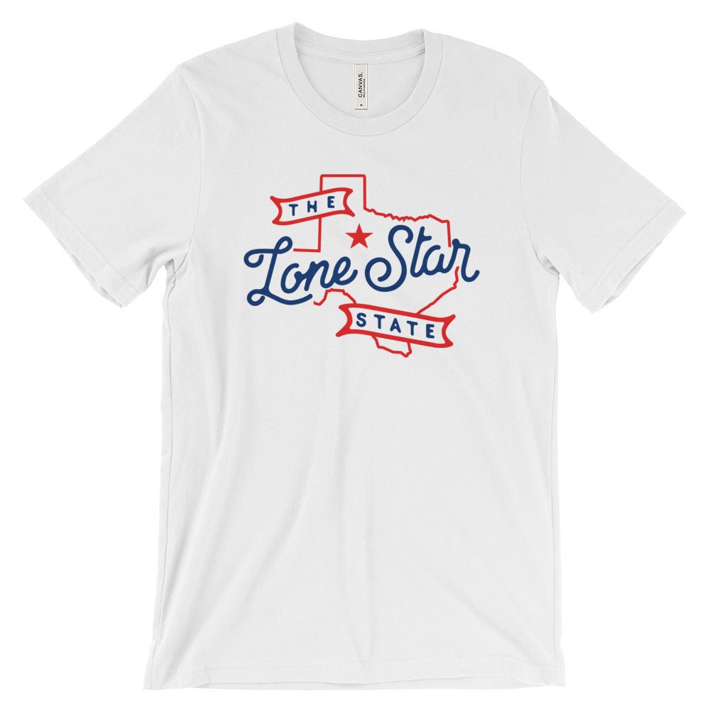Texas Lone Star State Nickname T-Shirt - Citizen Threads Apparel Co. - 2