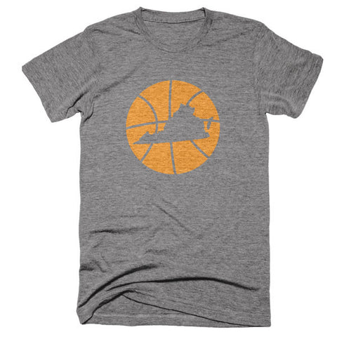 Virginia Basketball State T-Shirt - Citizen Threads Apparel Co. - 1
