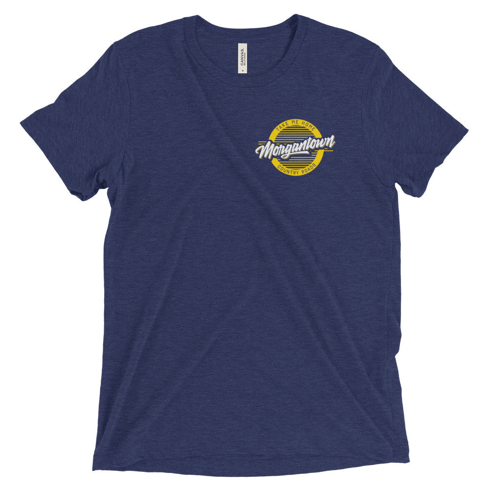 Morgantown Retro Circle T-Shirt